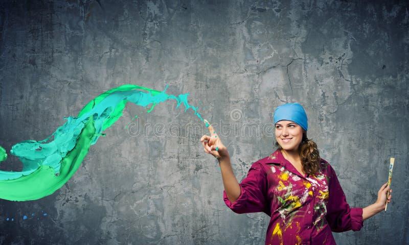 Download Творческие способности и искусство Стоковое Изображение - изображение насчитывающей creativity, brusher: 41652547