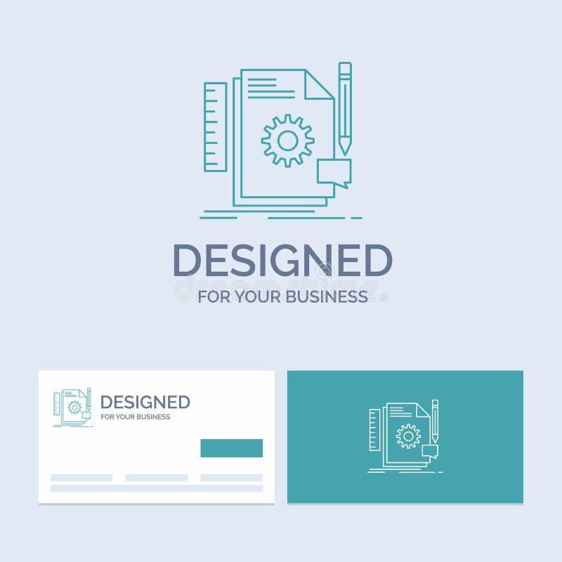Творческий, дизайн, превратитесь, обратная связь, линия символ логотипа дела поддержки значка для вашего дела r иллюстрация штока