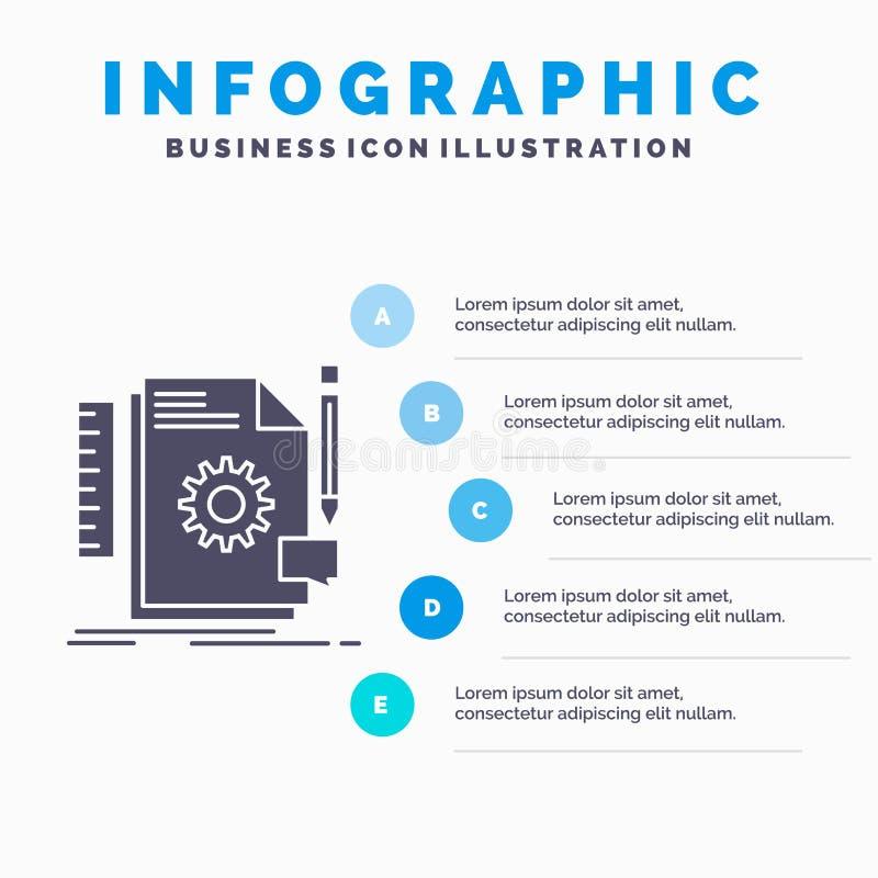 Творческий, дизайн, превратитесь, обратная связь, шаблон Infographics поддержки для вебсайта и представление r иллюстрация вектора