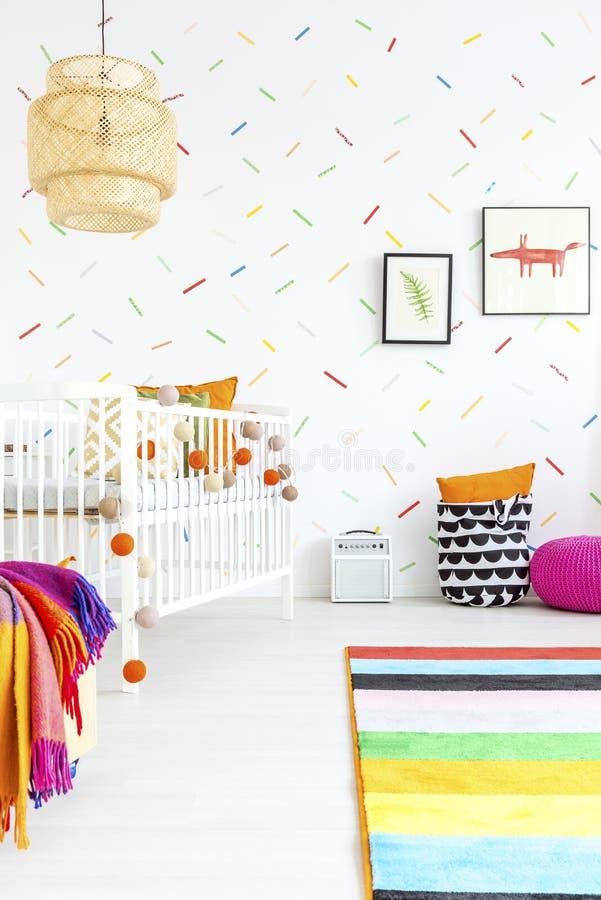 Творческий дизайн комнаты стоковое фото