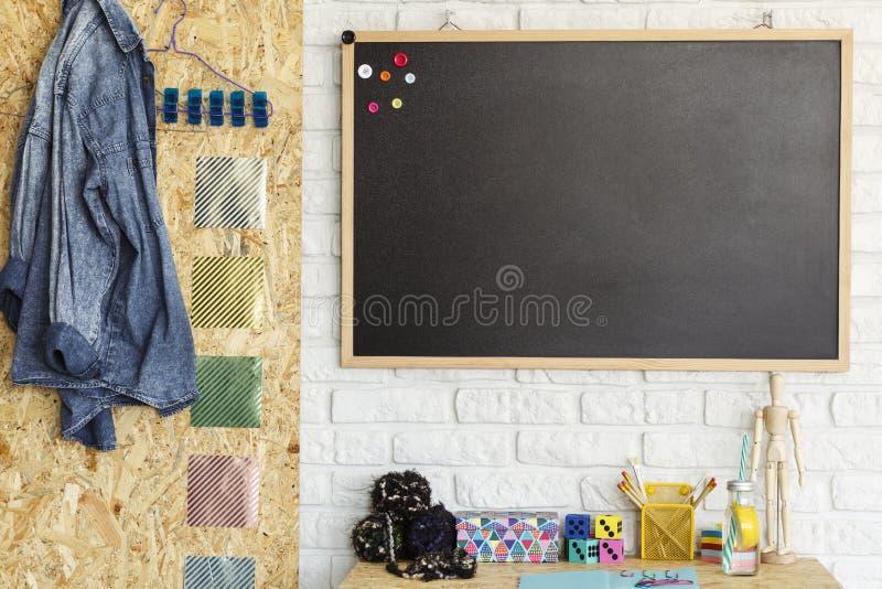 Творческий дизайн комнаты стоковое изображение