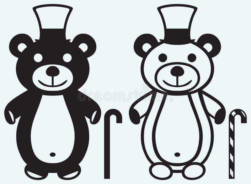Творческий плюшевый медвежонок бесплатная иллюстрация