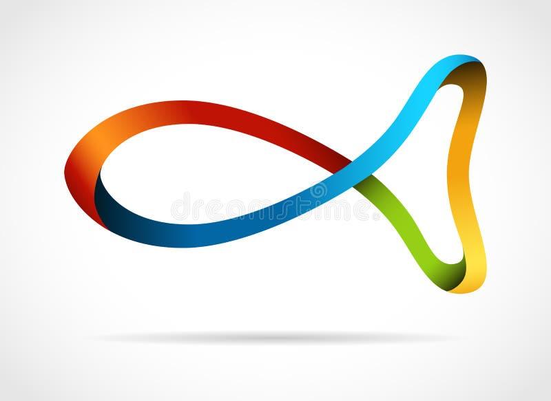 творческий символ рыб конструкции бесплатная иллюстрация