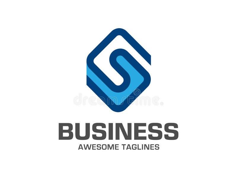 Творческий шаблон дизайна значка логотипа письма s бесплатная иллюстрация
