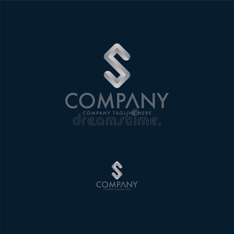 Творческий шаблон дизайна логотипа письма s бесплатная иллюстрация