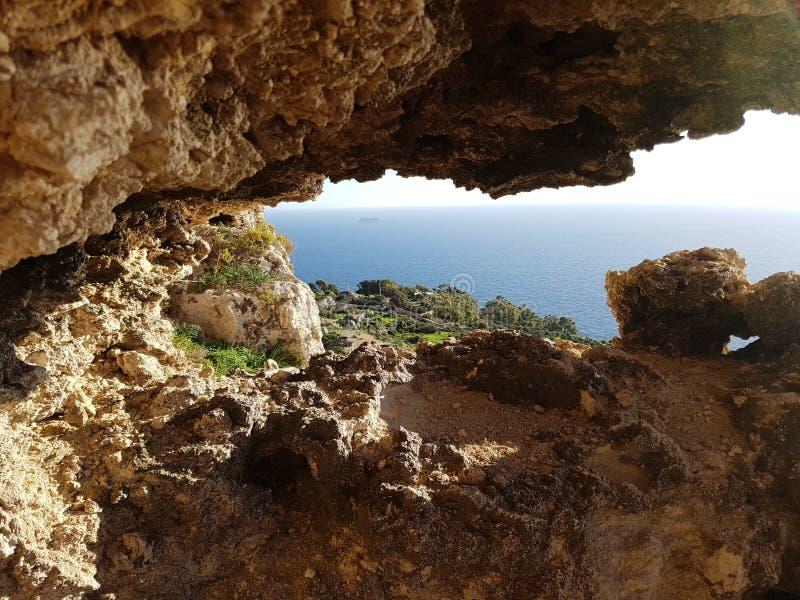 Творческое фото сделанное в Мальте стоковое изображение