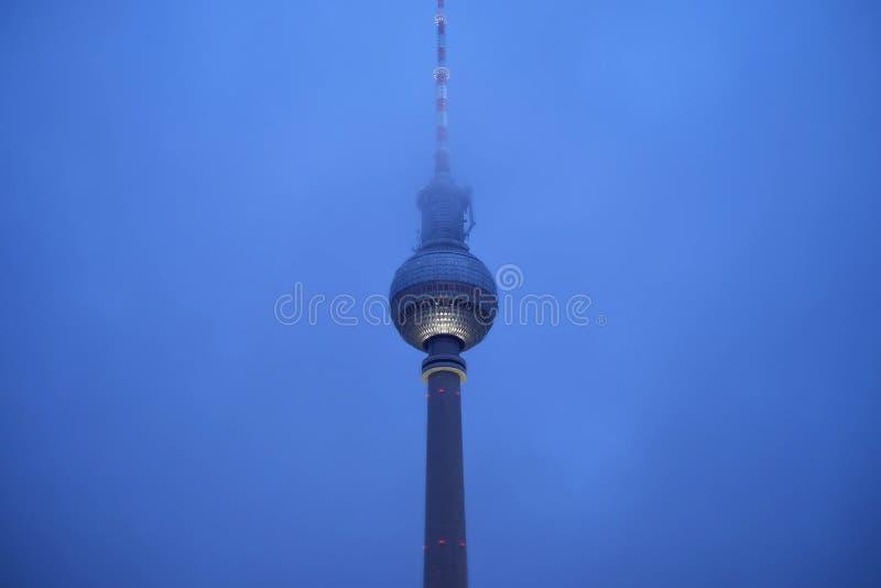 ТВ-башня в Берлине, Германии стоковые фотографии rf