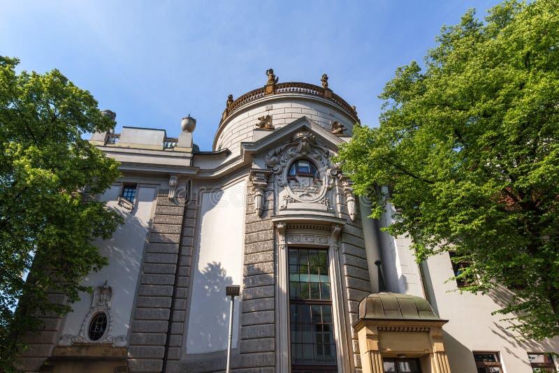 Театр Билефельд Германия стоковое фото rf