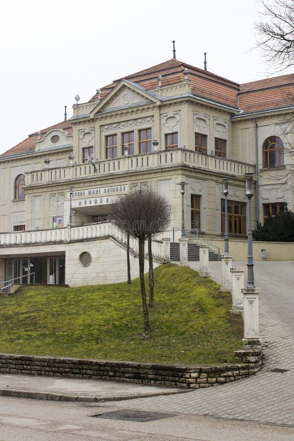 Театр в Tata стоковое фото
