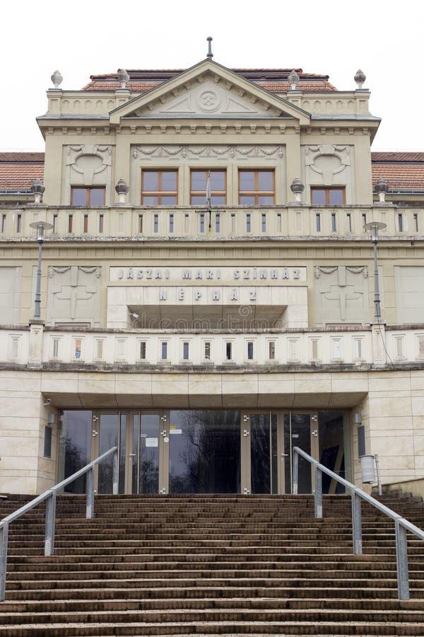 Театр в Tata стоковое фото rf