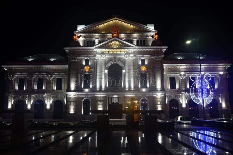 Театр города Severin стоковая фотография rf