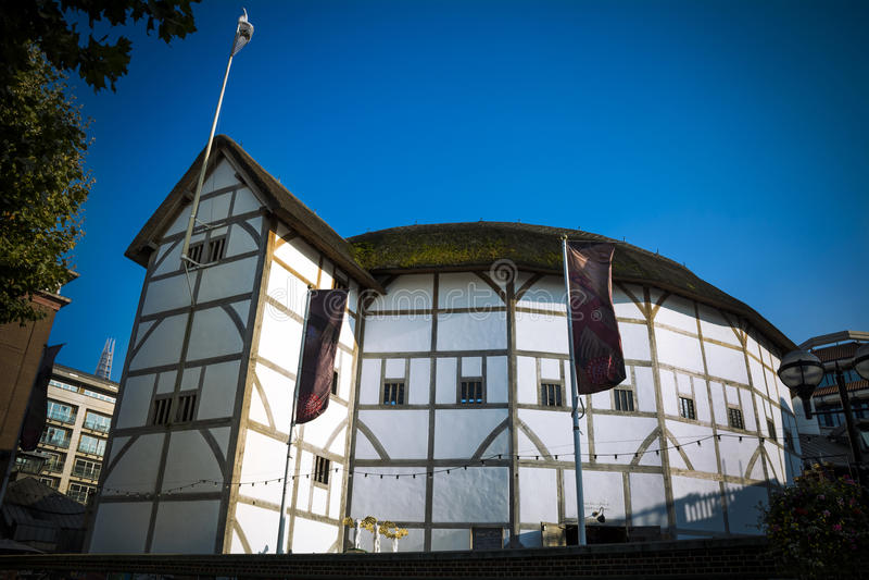 Театр глобуса стоковое фото rf