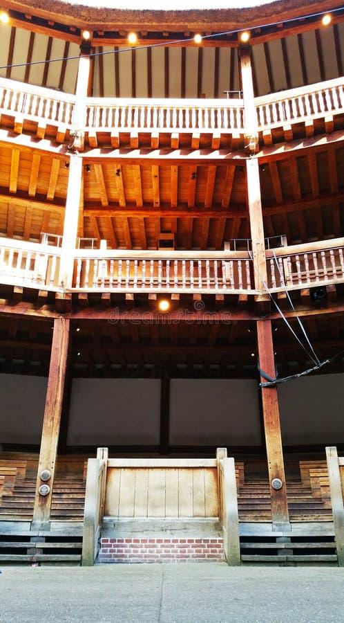 Театр глобуса стоковые фотографии rf