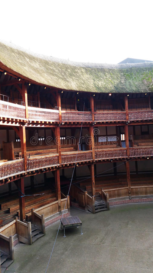 Театр глобуса стоковая фотография rf