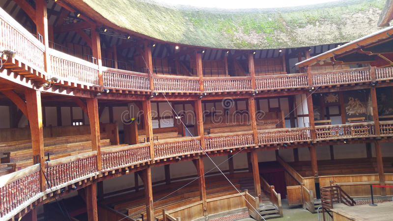 Театр глобуса стоковое фото