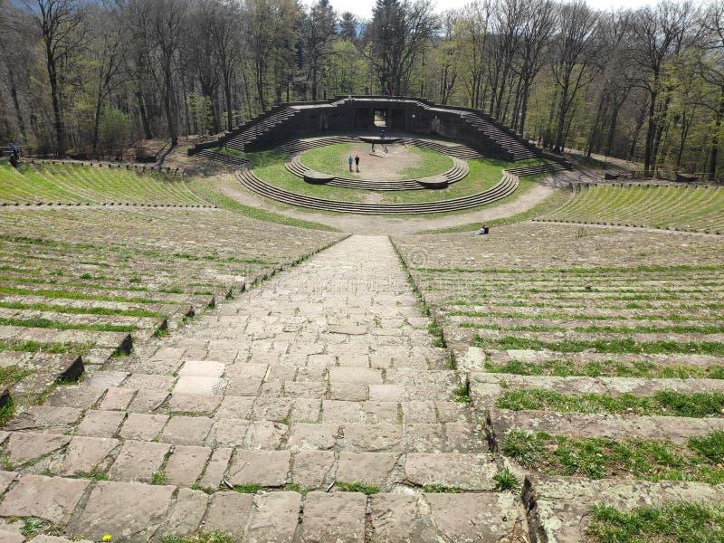 Театр движения Thingspiel в Гейдельберге стоковое изображение