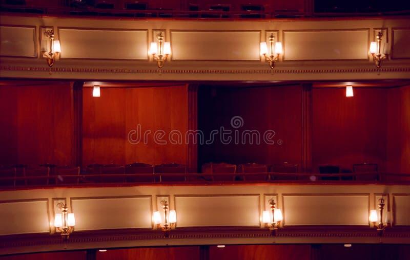 театр коробки стоковое изображение rf