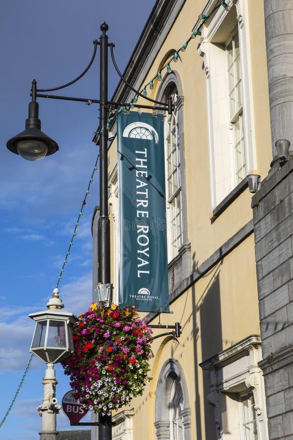 Театр королевский в Уотерфорде стоковое фото