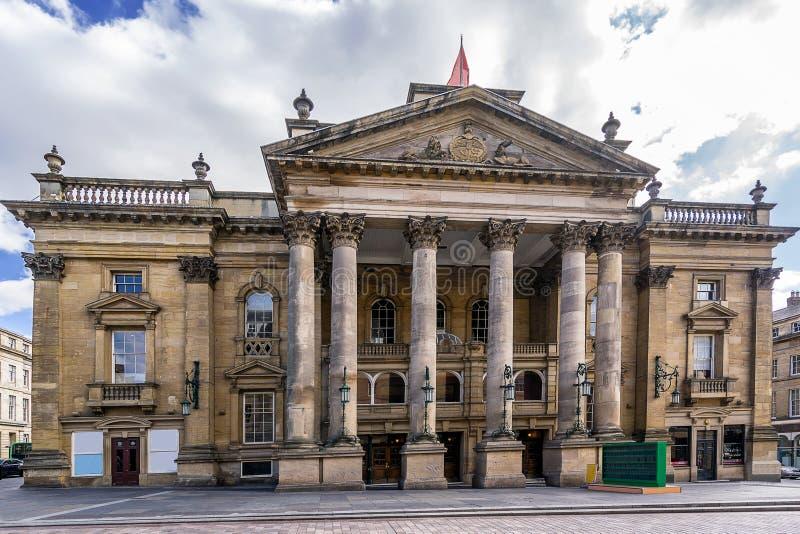 Театр королевское Ньюкасл стоковое изображение rf