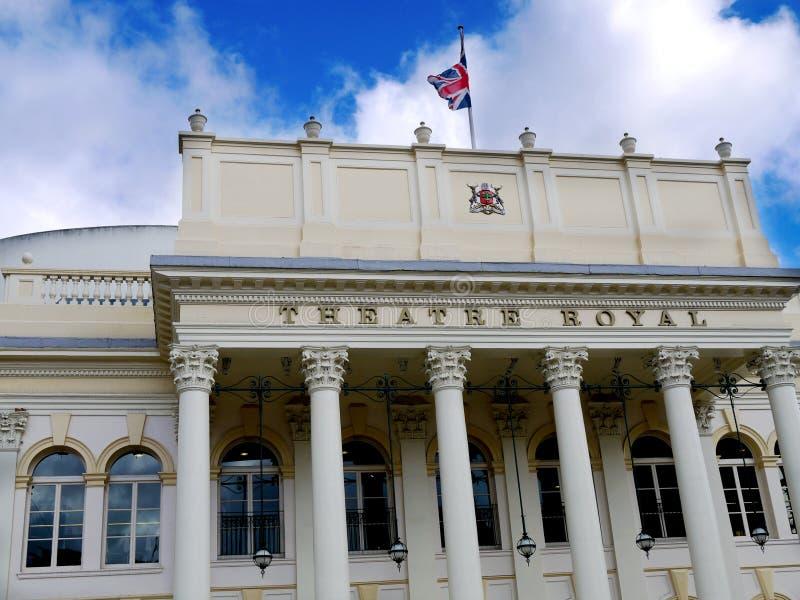 Театр королевский, Ноттингем стоковое изображение rf