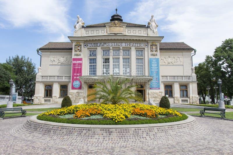 Театр Клагенфурта стоковая фотография rf