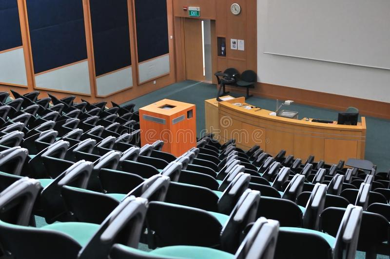театр лекции стоковая фотография