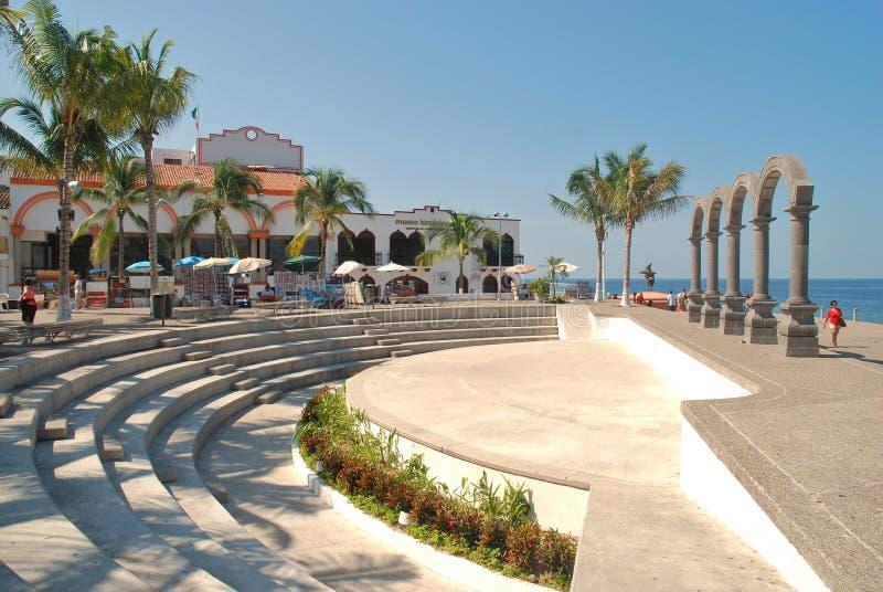 Театр Лос Arcos в Puerto Vallarta, Мексике стоковые изображения