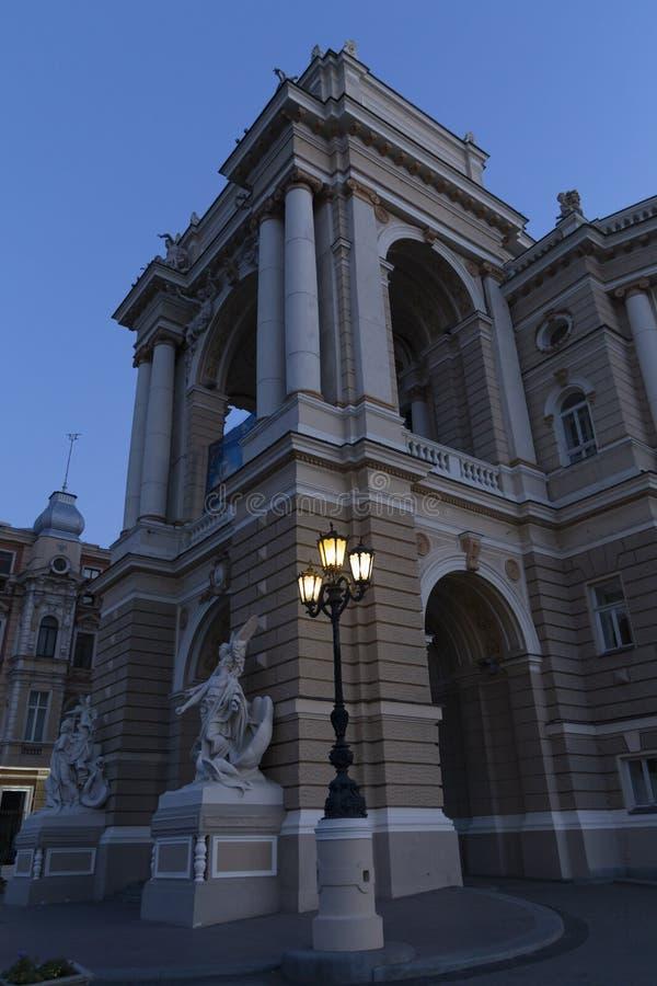Театр оперы и балета Одессы национальный академичный в Украине стоковые изображения