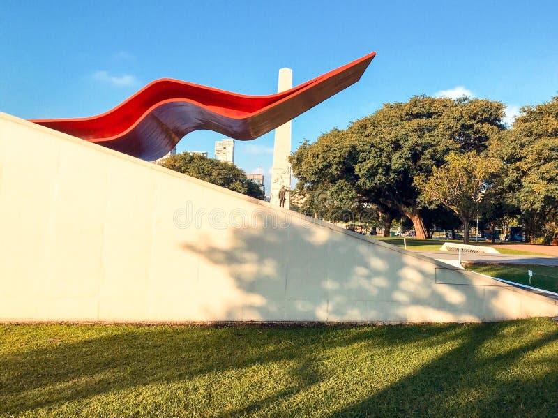 Театр парка Ibirapuera стоковые изображения
