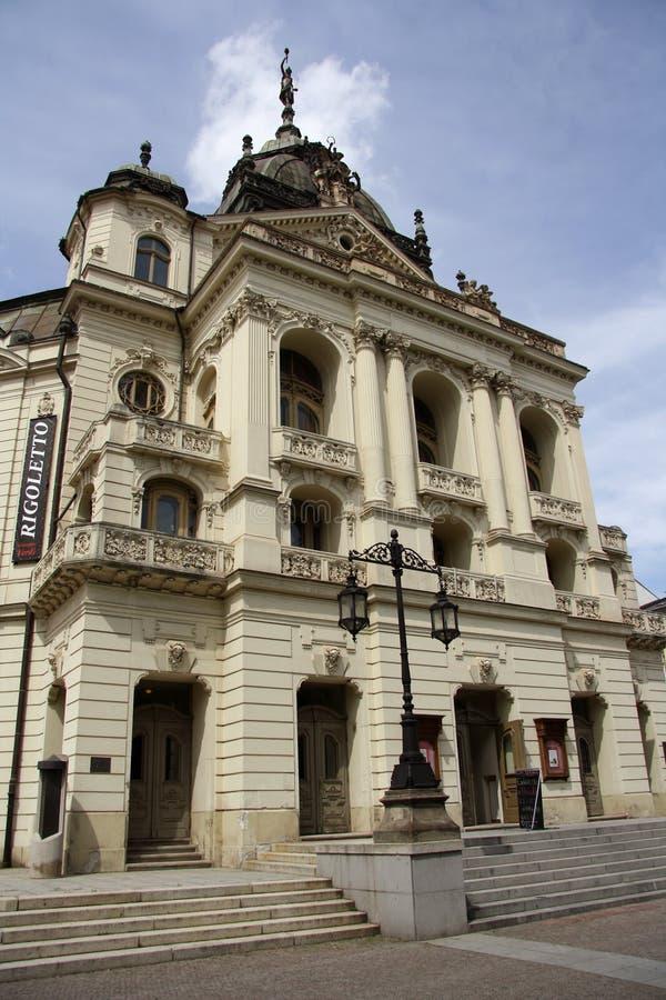 Театр положения в Kosice, Словакии стоковое изображение rf