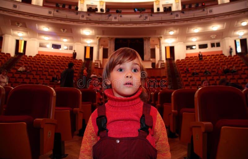 театр ребенка стоковая фотография rf
