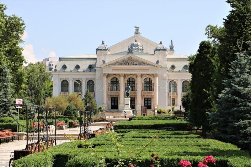 Театр Румыния Iasi национальный стоковые изображения