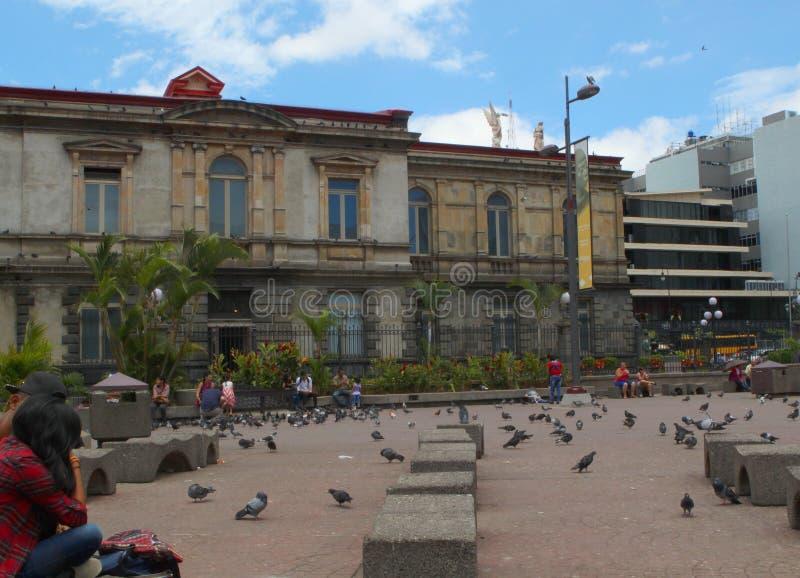 Театр Сан-Хосе национальный, Коста-Рика стоковые фотографии rf