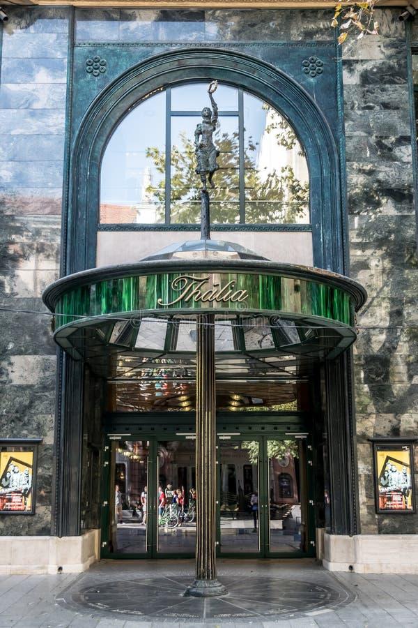 Театр Талии Драма в Будапеште стоковые изображения
