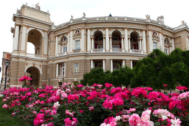театр Украина оперы odessa стоковые изображения rf