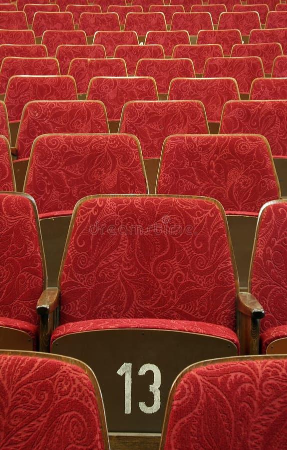 театр утончает стоковые изображения