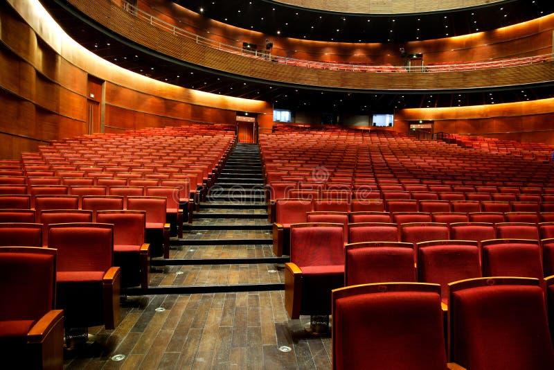 Театр Чунцина грандиозный в стуле стоковые изображения