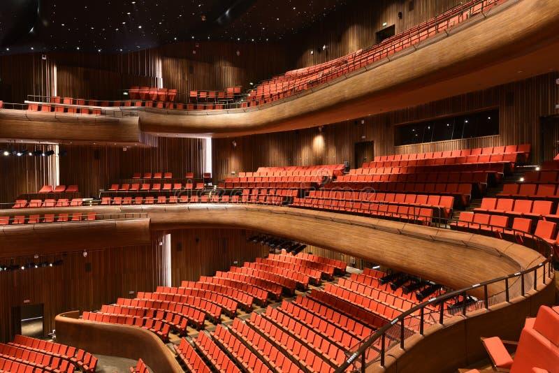 Театр Шэньси большой в Китае стоковое фото