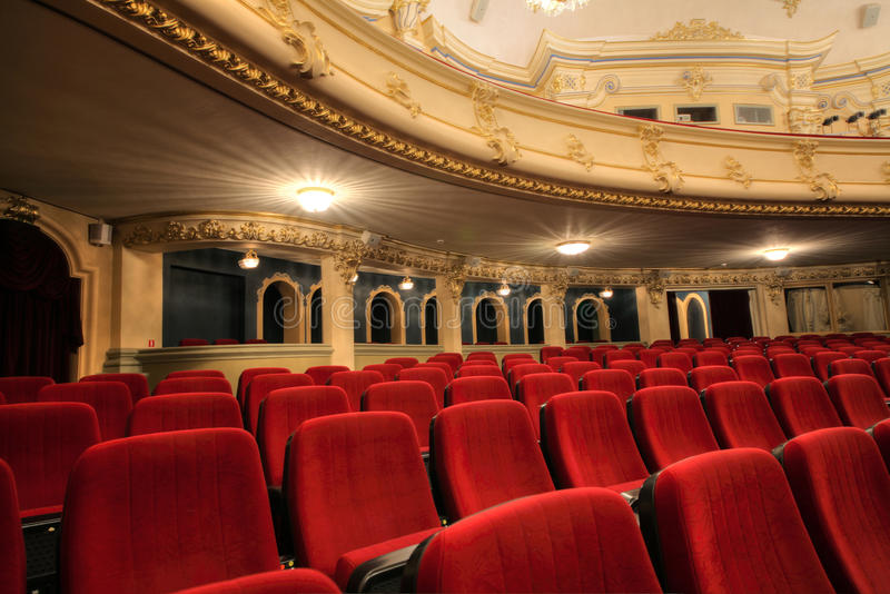 Театр стоковое фото rf