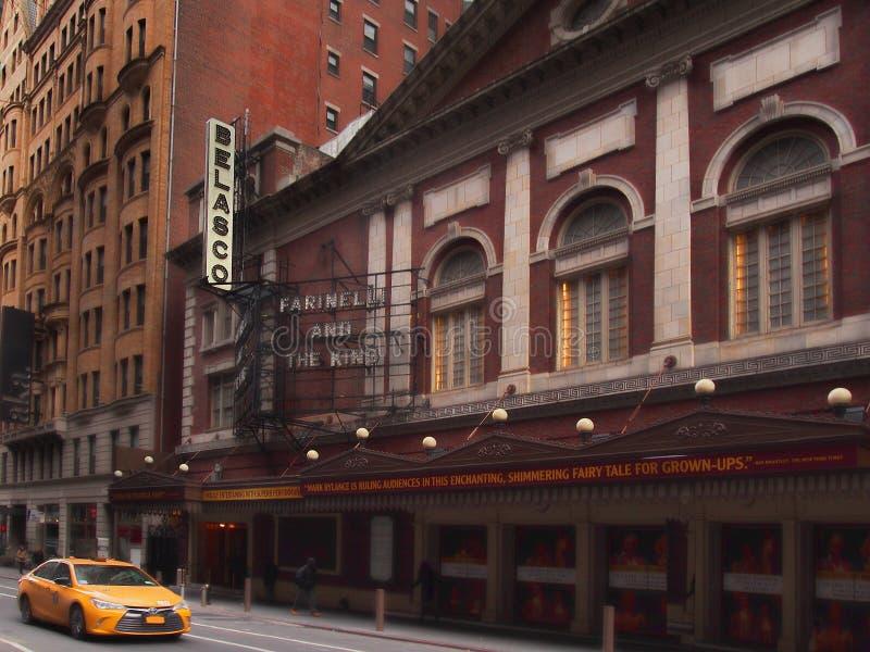 Театр Belasco стоковое фото rf
