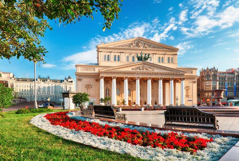 Театр Bolshoi в Москве, России стоковые фото