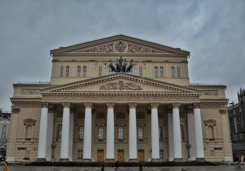 Театр Bolshoi, Москва стоковое фото