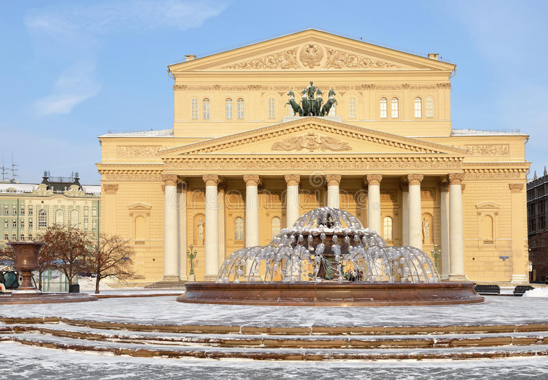 Театр Bolshoi стоковое фото
