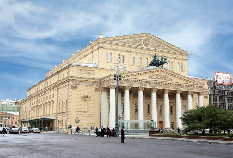 Театр Bolshoy в Москве стоковое фото
