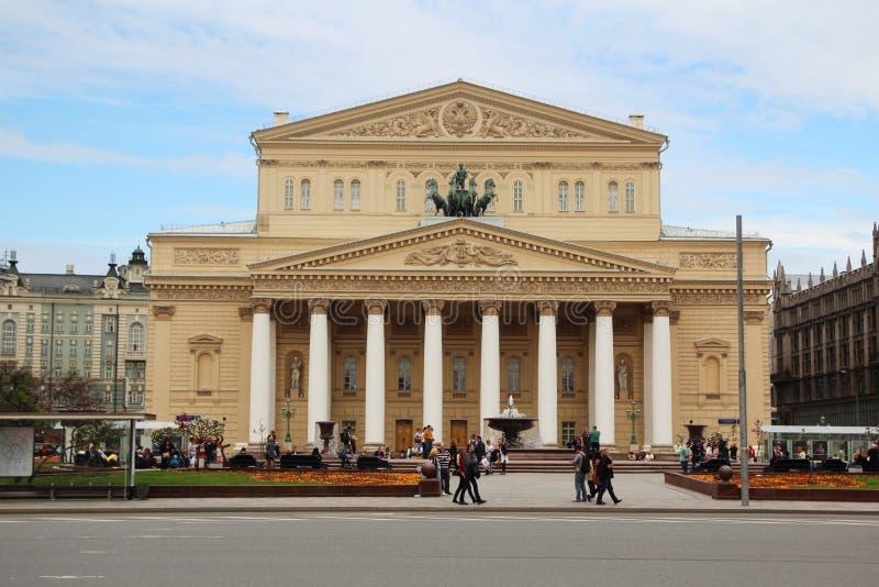 Театр Bolshoy, Москва стоковая фотография rf