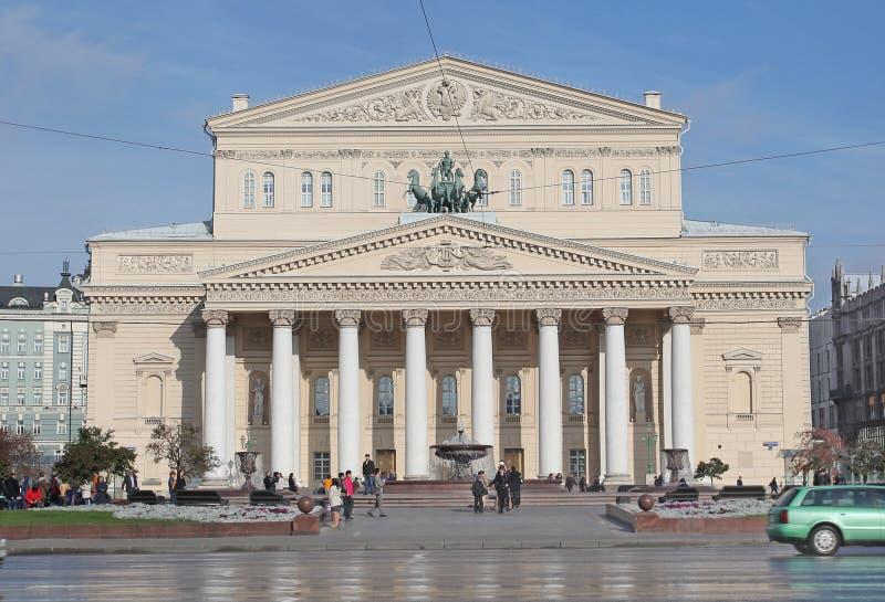 Театр Bolshoy, Москва стоковые изображения
