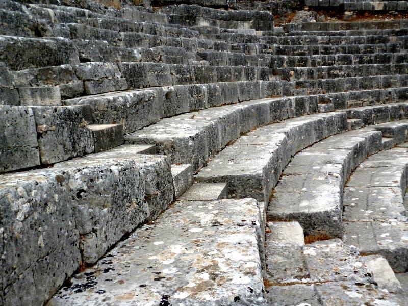 Театр Butrint стоковые изображения
