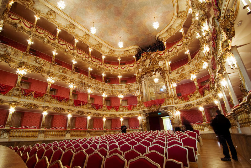 театр cuvillies стоковое фото rf