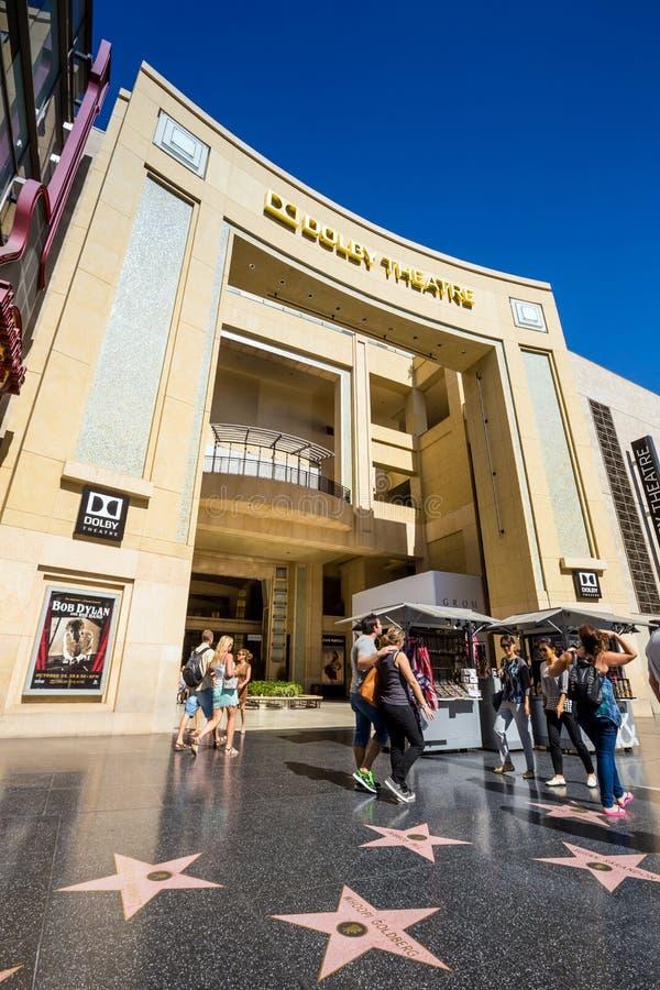 Театр Dolby (театр Kodak) стоковые изображения rf