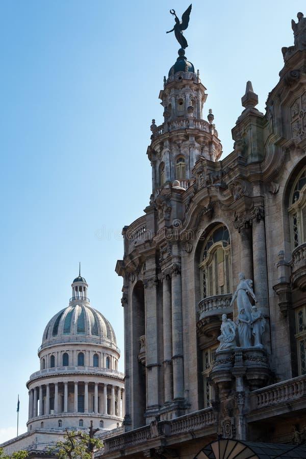 театр el capitolio большой стоковые изображения